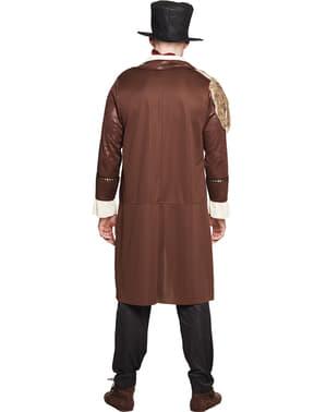 Steampunk captain costume for men