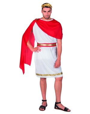 पुरुषों के लिए रोमन सीज़र पोशाक