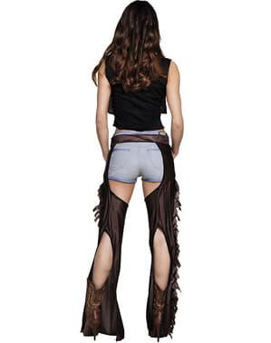 Sexet cowgirl kostume til kvinder