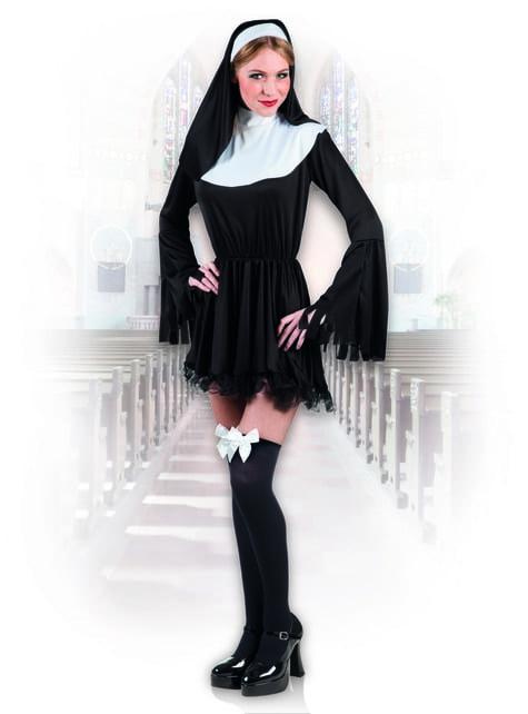 Disfraz de monja pecaminosa para mujer - mujer