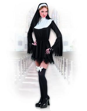 Disfraz de monja pecaminosa para mujer