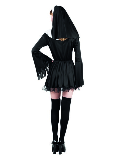 Disfraz de monja pecaminosa para mujer - original