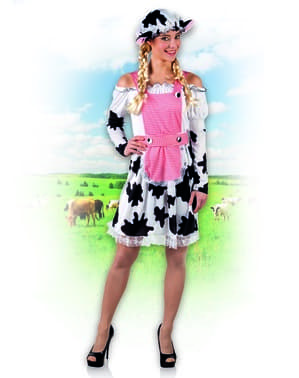 Déguisement vache moderne femme