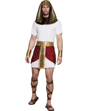 Fato de faraó do deserto para homem