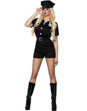 Fato de polícia de trânsito para mulher