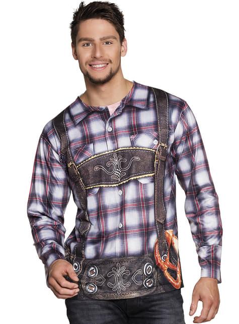 Camiseta de bávaro coqueto para hombre