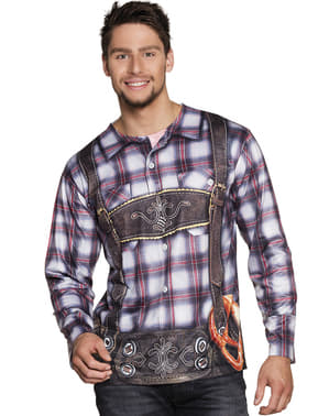 Stijl Bavarian t-shirt voor mannen