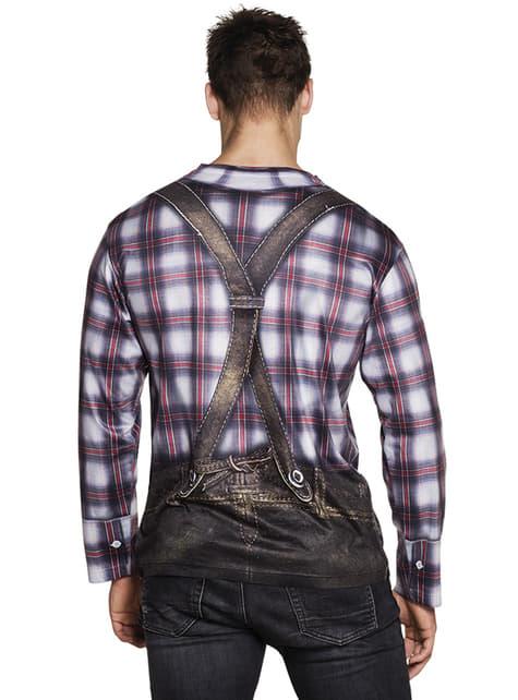 Camiseta de bávaro coqueto para hombre - hombre