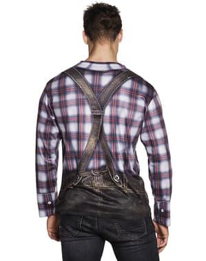 אופנתי בוואריה חולצה לגברים