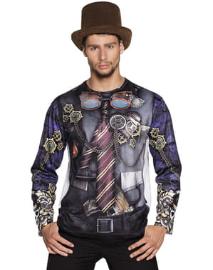 Mr.Steampunk t-shirt voor mannen