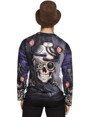 מר Steampunk חולצת טריקו לגברים