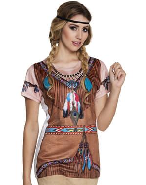 Indiaanse T-shirt voor vrouw