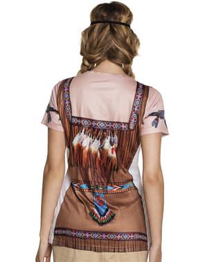 Tricou de indiană pentru femeie
