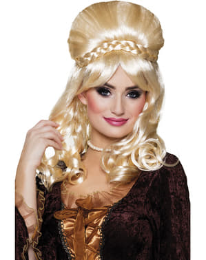 Victorian Blonde Wig for Women