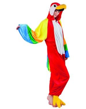 Disfraz de papagayo para adulto