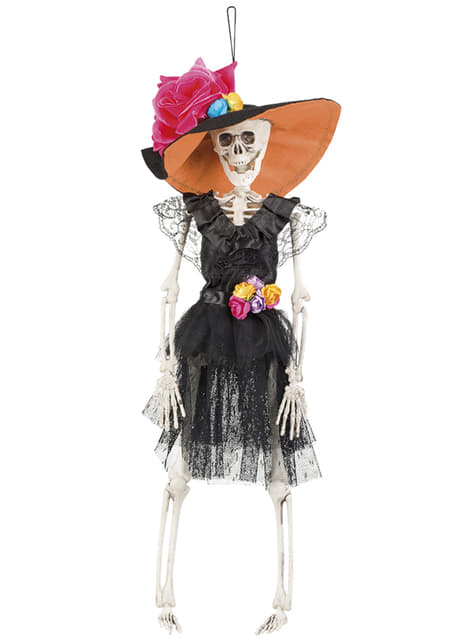 Závěsná figurka mexický kostlivec La Flaca