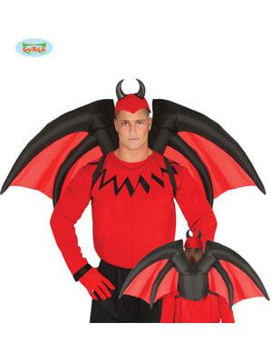 वयस्कों के लिए Inflatable शैतान पंख
