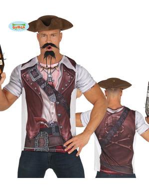 Erkekler için Hardcore Pirate Tişört