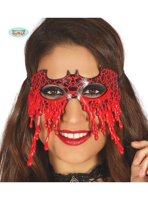 Antifaz de murciélago sangriento