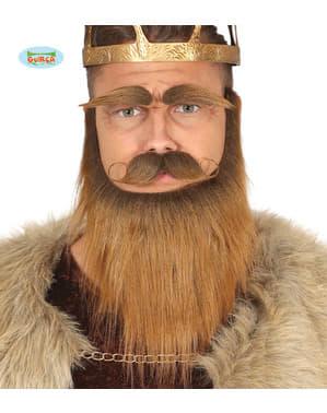 Vikings'in yüz kılı, sakal, bıyık ve kaşlar