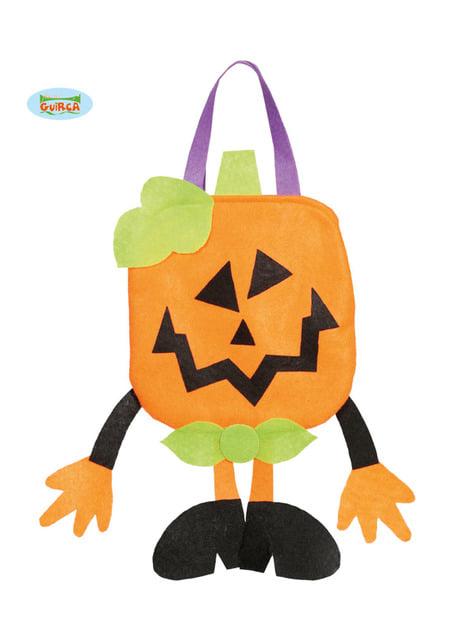 Felt Pumpkin Bag