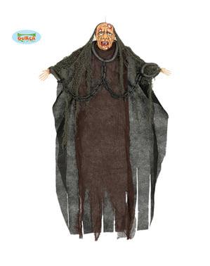 Figura dekoracyjna wisząca człowiek w łańcuchach