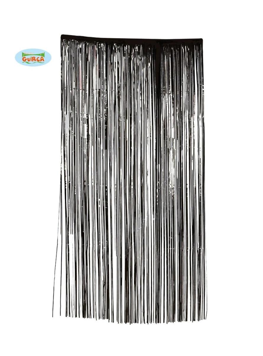 Cortina negra siniestra comprar online en funidelia for Cortinas negras decoracion