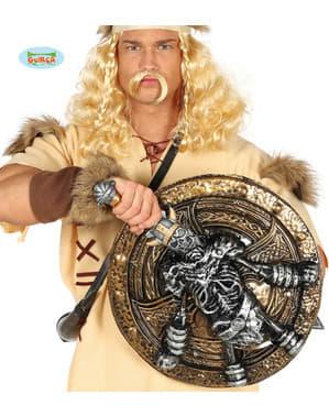 Скелет Вікінг щит і меч для дорослих