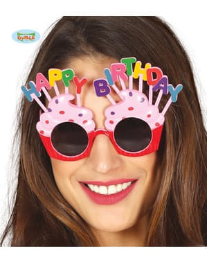 Happy Birthday glasses for adults