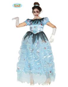 Zombie keskiyön prinsessa -asu naisille 9f9c7e9181e2a