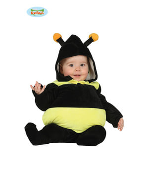 Naughty bee costume for babies