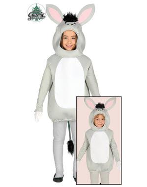 Schattige ezeltje kinderen kostuum
