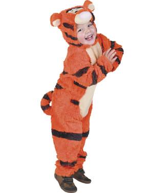 Bir çocuk için Winnie the Pooh Tigger kostümü