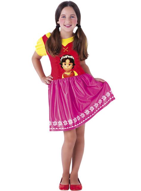 Disfraz de Heidi para niña