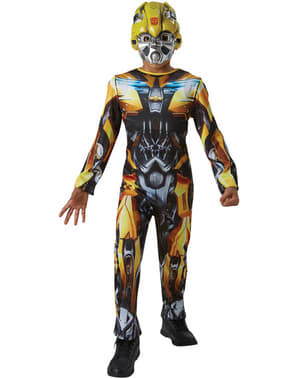 Fato de Bumblebee Transformers 5 o último Cavaleiro para menino