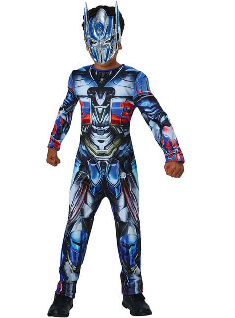Disfraz de Optimus Prime Transformers 5 El último caballero para niño