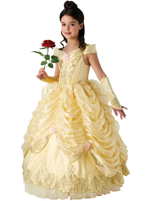 Prestige Belle Costume for Girls - Beauty and the Beast