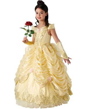 Deluxe dievčenský kostým Belle - Kráska a zviera