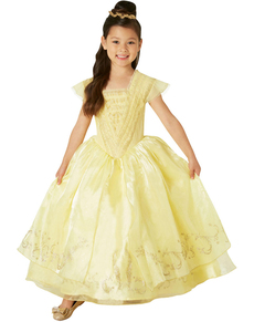 Deluxe Belle costume for girls