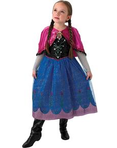Disfraz de Anna Frozen con luz y música en caja para niña