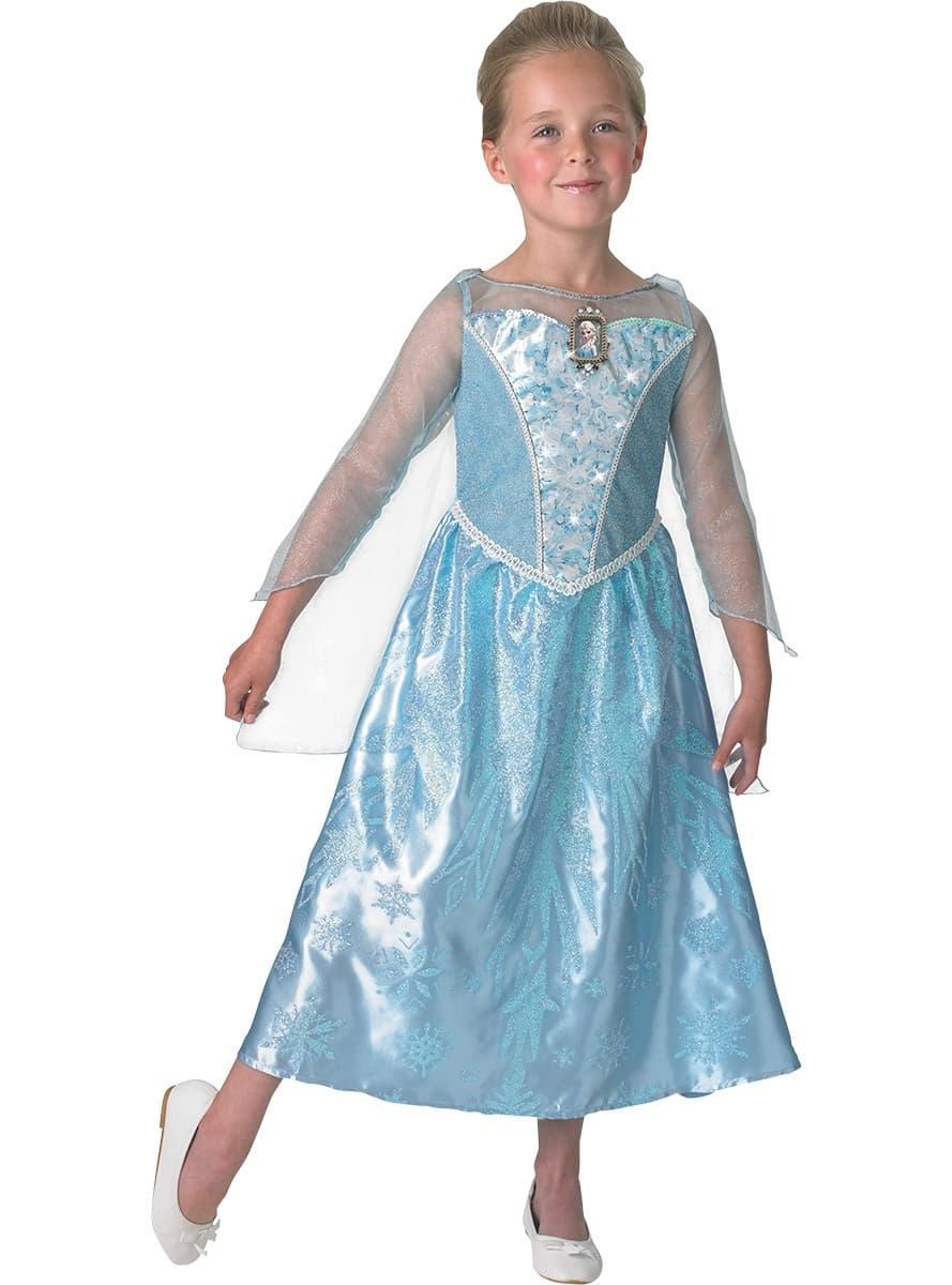 Costume elsa la reine des neiges avec lumi re et son en - Elsa la reine ...