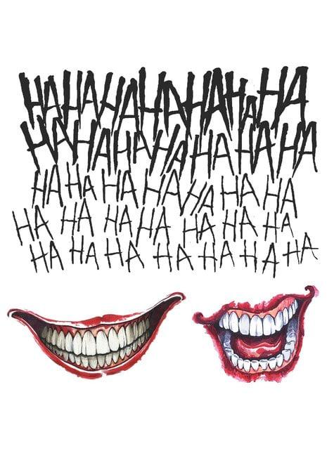 Zestaw tatuaży Joker Legion Samobójców