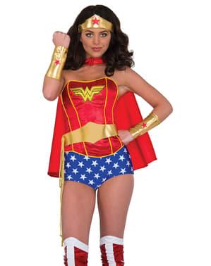 Dívčí sada doplňků pro Wonder Woman od DC komixu