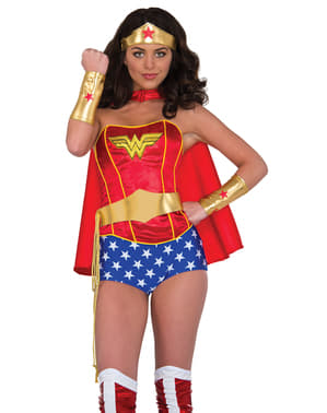 Kit di accessori da Wonder Woman DC Comics per donna