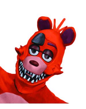Foxy Vijf Nachten in Freddy's masker voor volwassenen