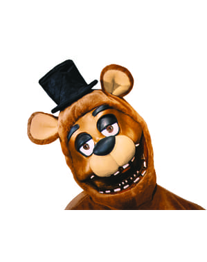 Máscara de Freddy Five Nights at Freddy's para adulto