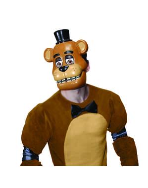 Meia máscara de Freddy Five Nights at Freddy's para adulto