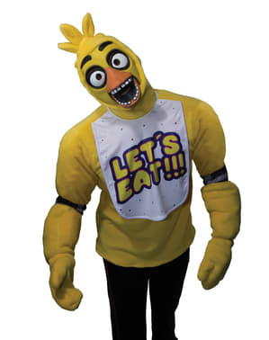 Costume Chica Five Night at Freddy's per adulto