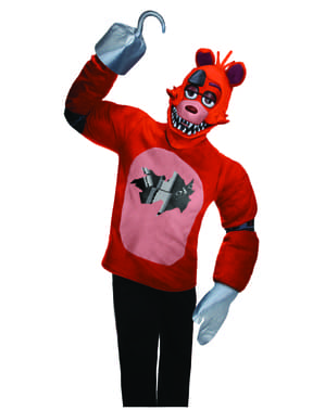Foxy Five Nights at Freddy's Voksen Kostyme
