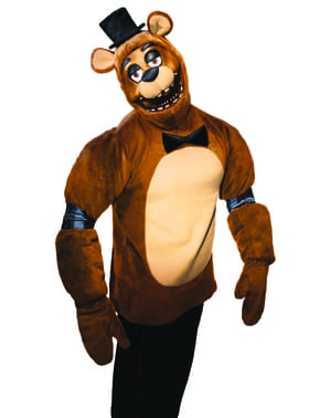 Déguisement Freddy Five Nights at freddy's adulte